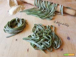 Tagliatelle verdi con spinaci