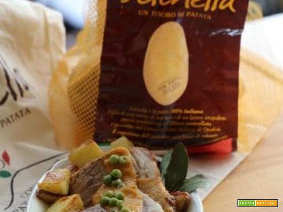 Roast-beef con patate croccanti