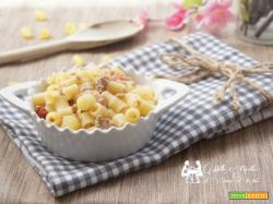 Pasta patate e carne trita