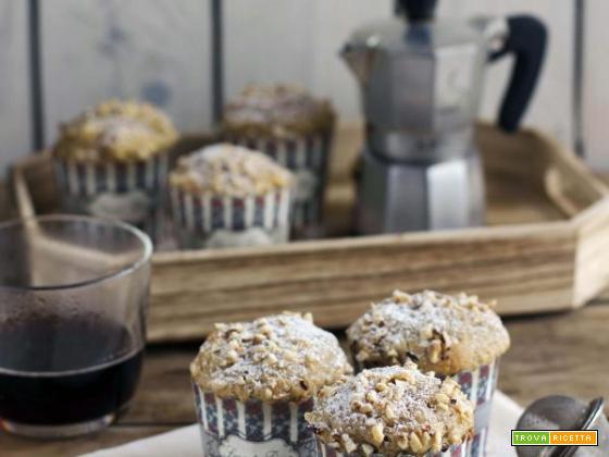 Muffin al caffè: ricetta soffice senza burro