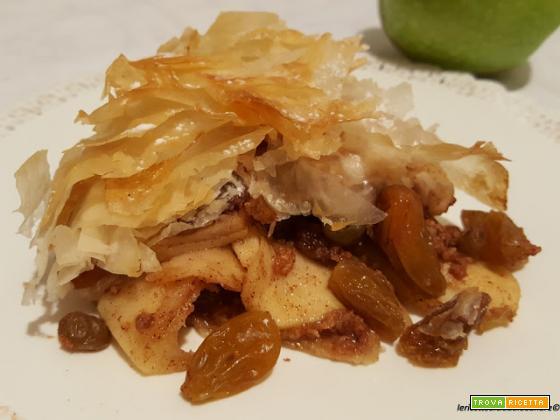 Torta croccante (e furbissima) alle mele!