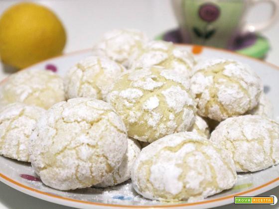 Biscotti morbidi al limone senza burro