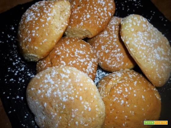 Biscotti morbidi al latte e miele