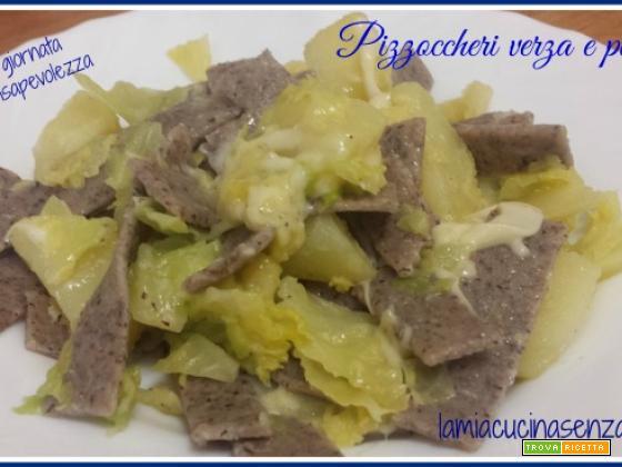Pizzoccheri verza e patate senza lattosio