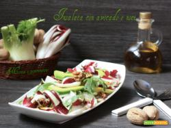 Insalata con avocado e noci