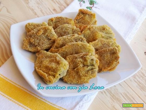 Carciofi fritti impanati croccanti