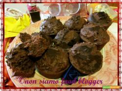 Muffin morbidi al cioccolato, ricetta senza burro
