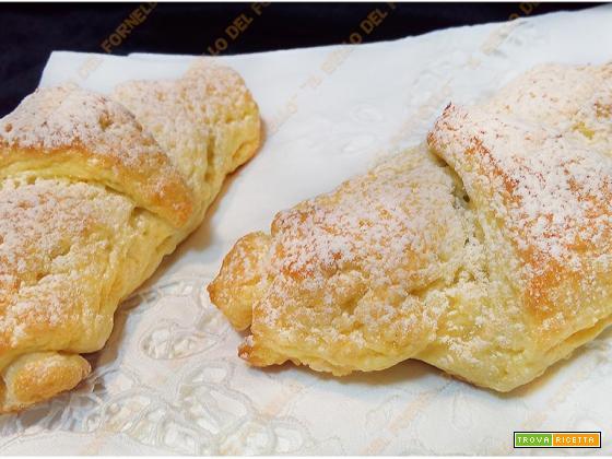 Cornetti dolci senza burro ne olio