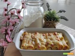Cannelloni asparagi bianchi e cotto