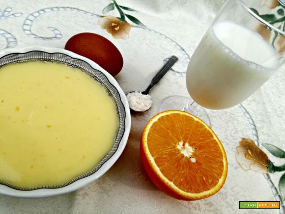 Crema pasticcera all'arancia
