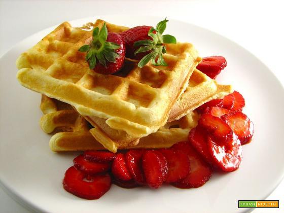 Come fare in casa gli irresistibili waffle
