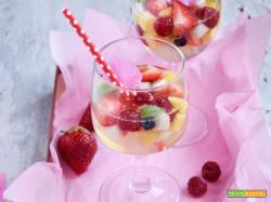 Essenza: Aspic di frutta fresca e acqua di cocco