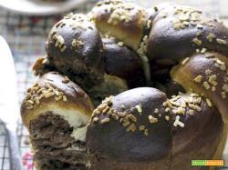 Pan brioche bicolore: come fare la treccia di pan brioche