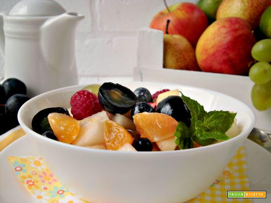 Macedonia autunnale in collaborazione con Fruit24