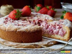 Crostata Morbida alle Fragole e Ricotta