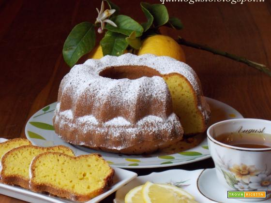 Torta limone e zenzero