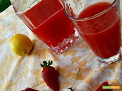 Bevanda alla fragola e limone (analcolica)