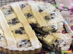 Crostata con ricotta e cioccolato: ricetta cremosa e friabile