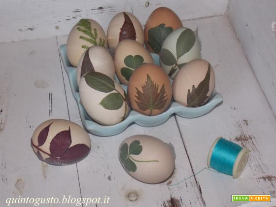 Uova colorate
