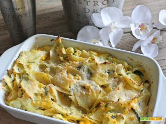 Pasticcio con carletti e uova facile e buono!