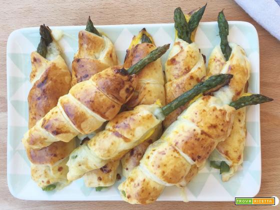 Cannoncini di asparagi