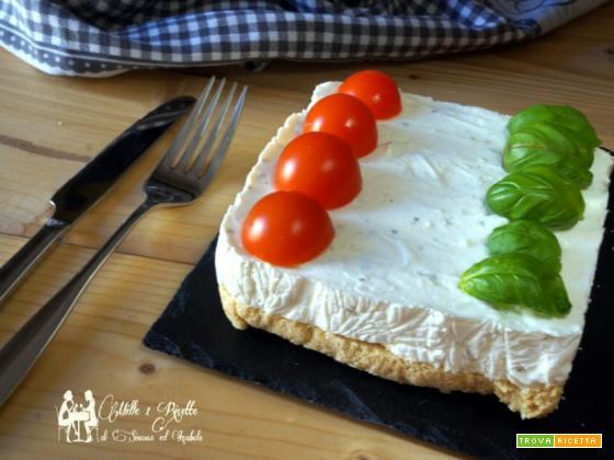 Chesee-cake tricolore