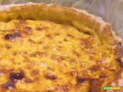 Torta Salata allo Zafferano Vegana