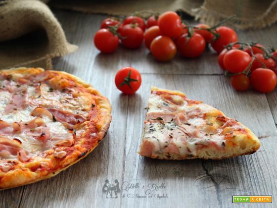 Impasto per pizza veloce