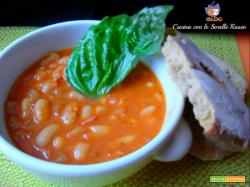 Zuppa di fagioli alla contadina