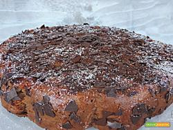 Torta cioccomela con yogurt (senza burro)