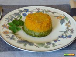 Tortino di fagiolini e carote