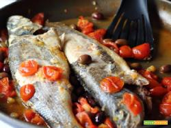 BRANZINO ALL'ACQUA PAZZA