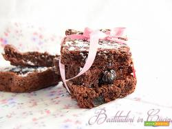 Brownies all'amarena