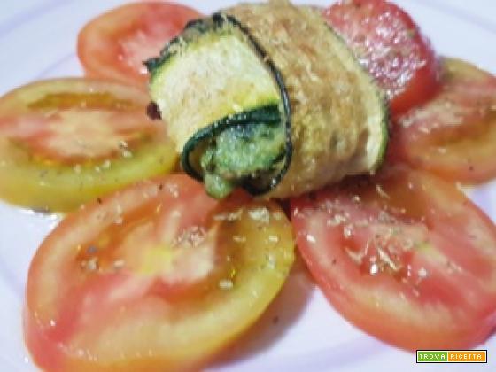 Fagottini di Zucchine con Tonno