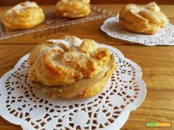 Zeppole di pasta choux senza burro