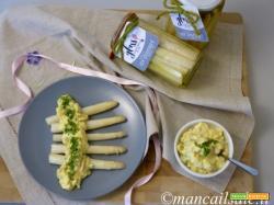 Salsa bolzanina e asparagi Glass