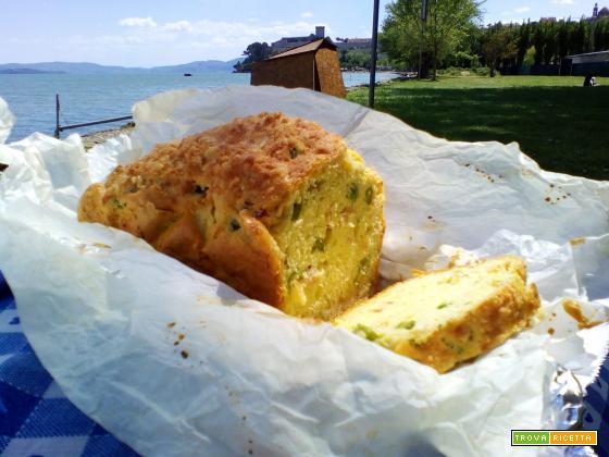 Ricetta del plumcake salato agli asparagi e prosciutto cotto