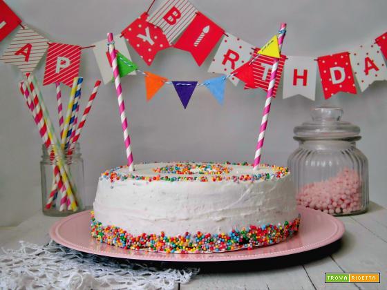 Torta di compleanno, semplicemente golosa