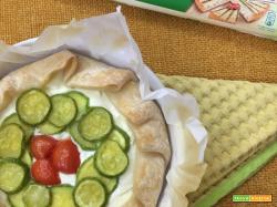 Torta salata alle zucchine realizzata con la Sfoglia Senza Glutine Buitoni