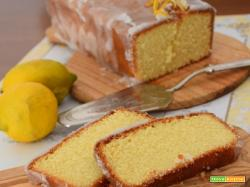 Plumcake glassato al limone – Lemon pound Cake