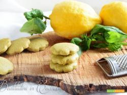 Biscotti basilico e limone seguilestagioni