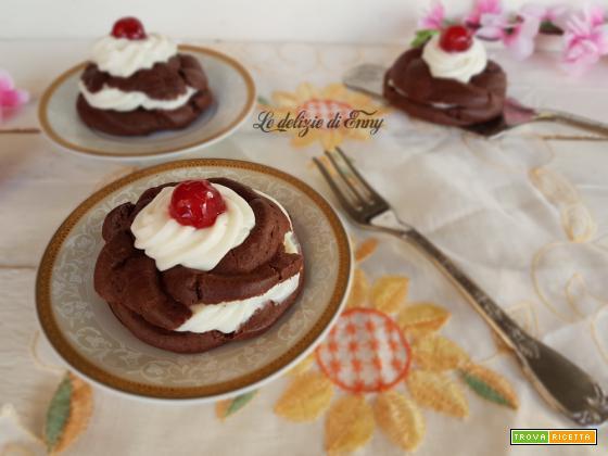 zeppole di san giuseppe al cacao