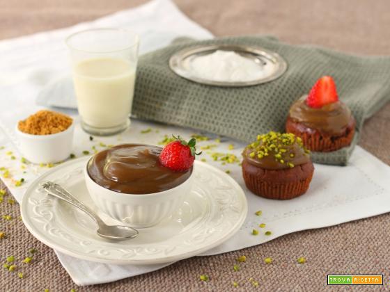 Crema vegana 3 ingredienti per farcire dolci