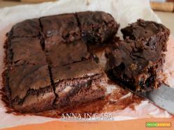 Brownies veloci alla crema di nocciole -Nutella
