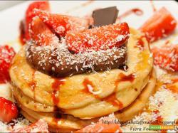 Pancake alla crema di spalmarisella