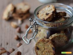 Cookies alla banana e avena (senza uova, senza lattosio)