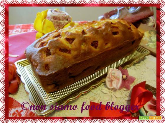 Plumcake fragole e ricotta, ricetta senza burro