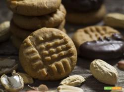 Peanut butter cookies - Biscotti al burro di arachidi