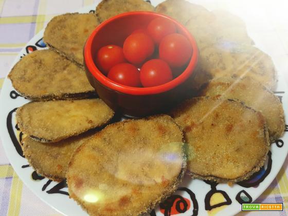 Melanzane impanate alternative cotte al forno