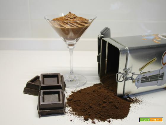 Mousse al cioccolato e caffè